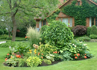 Perennial Flower Garden Ideas Photograph | Landscaping Check